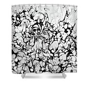 Drippies Shower Curtain