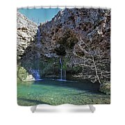 Dripping Springs Falls Shower Curtain