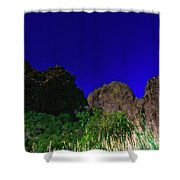 Dripping Springs Reflection Shower Curtain