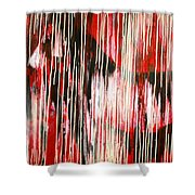 Drippings Horse Shower Curtain
