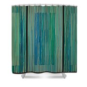 Drippings Triptych Shower Curtain