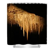 Drips - Cave Shower Curtain