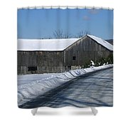 Drive By Delight Shower Curtain