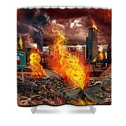 Drive Deadly  Shower Curtain