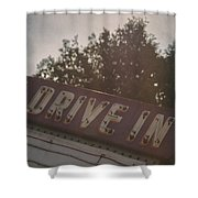Drive In II Shower Curtain
