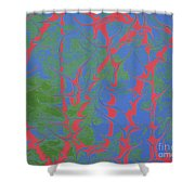 Drive Naked - V1rbr62 Shower Curtain
