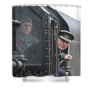 Driver Shower Curtain