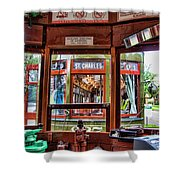 Driver St. Charles Trolley New Orleans Shower Curtain