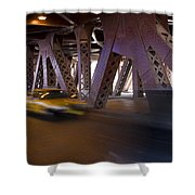 Driving Fast Shower Curtain