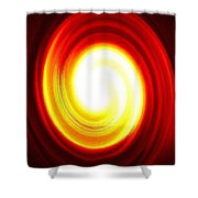 Driving Force Shower Curtain