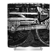Driving Wheels Shower Curtain