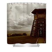 Droop Mountain Battlefield Shower Curtain