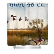 Drop On In-jp2780 Shower Curtain