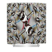 Droplet 2 Shower Curtain