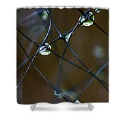 Droplettes Shower Curtain