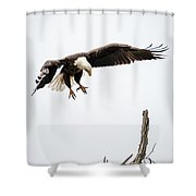 Dropping In To Check On The Kids Shower Curtain