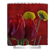 Drops Of Love Shower Curtain