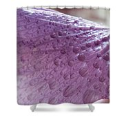 Drops Of Pink Shower Curtain