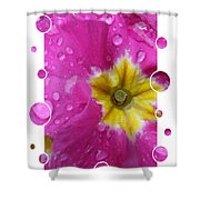 Drops Upon Raindrops 5 Shower Curtain