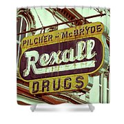 Drug Store #1 Shower Curtain
