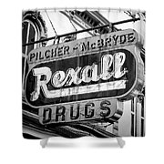 Drug Store #2 Shower Curtain