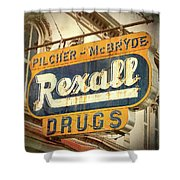 Drug Store #3 Shower Curtain