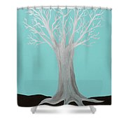 Druid Tree - Original Shower Curtain