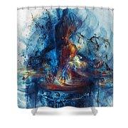 Drum Shower Curtain
