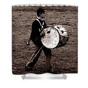 Drummer Boy Shower Curtain