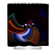 Drummer Dance Shower Curtain