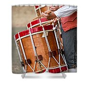 Drums Of The Revolution Shower Curtain