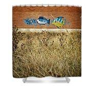 Dry Aquarium Shower Curtain