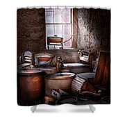 Dry Cleaner - Put You Through The Wringer  Shower Curtain