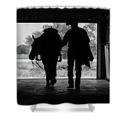 Dry Creek Stables Shower Curtain
