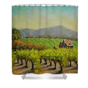 Dry Creek Valley View Shower Curtain