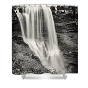 Dry Falls - Blue Ridge Mountains - Number Two Shower Curtain