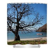 Dry Season Shower Curtain