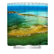 Dry Tortugas Shower Curtain by Jody Lane