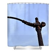 Dte Lamp Post Shower Curtain