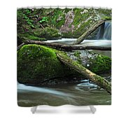 Dual Falls 2 Shower Curtain