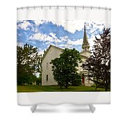 Duanesburg, Ny, Church Shower Curtain