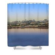 Dubai City View Shower Curtain