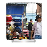Dublin Alley Shower Curtain