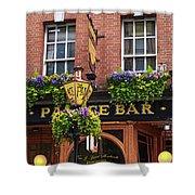 Dublin Ireland - Palace Bar Shower Curtain