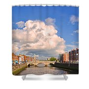 Dublin's Fairytales Around  River Liffey Shower Curtain