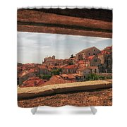 Dubrovnik City In Southern Croatia Shower Curtain