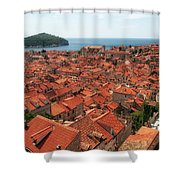 Dubrovnik Old Town Shower Curtain