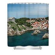 Dubrovnik Panorama Shower Curtain