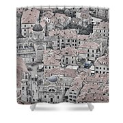 Dubrovnik Rooftops #2 Shower Curtain