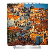 Dubrovnik Sunset Shower Curtain